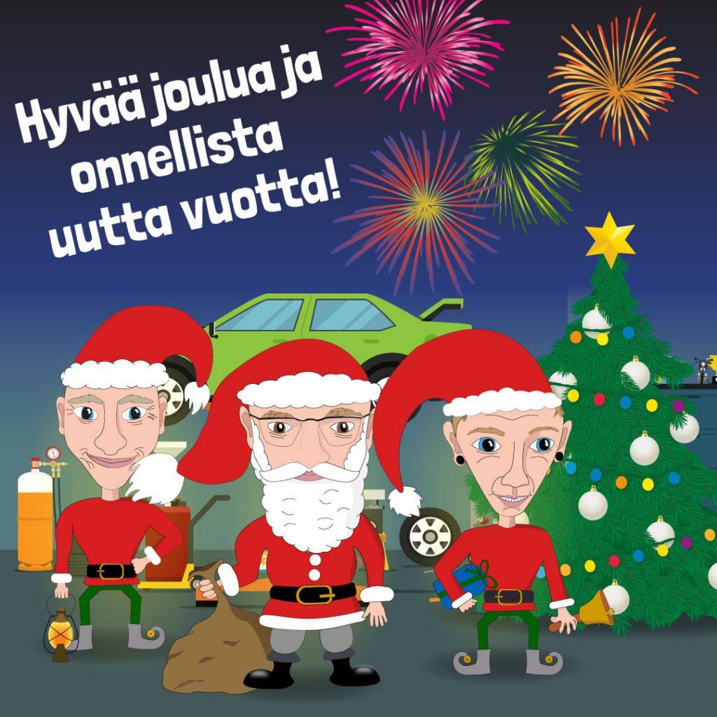 Imatran Autohuolto Joulukuvitus